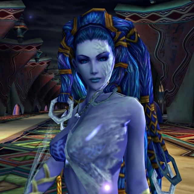 L'impitoyable reine des glaces dans Final Fantasy X